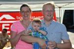 Unser liebes Enkelkind Alexander mit seinen Eltern Christian und Daniela