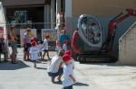 So viele Kinder lieben das Minibaggerfahren auf der Kinderbaustelle bei Baufirma Lechner