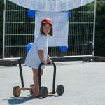 Die Tochter unserers Vizebürgermeisters Strommer hatte auch sehr viel Spaß auf unserer Kinderbaustelle