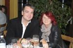 Vorarbeiter Helmut Zollner mit seiner Frau bei der Weihnachtsfeier 2013