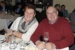 Pensionist Franz Hager mit seiner Frau bei der Weihnachtsfeier 2013