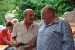 Was besprechen wohl die beiden - Manfred Zellhofer und Franz