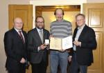 Anton Gutmeier 35 Jahre Betriebszugehörigkeit Firma Lechner