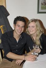 Markus Plabensteiner mit seiner Freundin