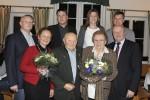 Familie Lechner sen jun mit Michael und Johann Waschl Blumen