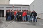 Gesamtes Team bei Betriebsausflug in Wien