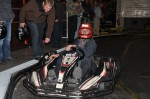 Rudi Hahn vor dem Start zum Kart-Fahren