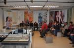im Studio des ORF