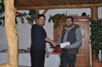 unser Bautechniker Ing. Michael Widhalm gratuliert unserem Vorarbeiter Herbert Göttinger zum 50.Geburtstag