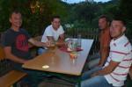 unsere drei Slowaken Hmira Pavol und Sprlak