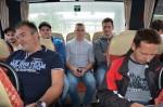 Es war eine lustige Busfahrt nach Wien beim Betriebsausflug 2016 der Baufirma Lechner