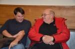 Wäre interessant worüber sich Michael Widhalm und Franz Hager beim Warten auf die Rundfahrt unterhalten