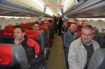 Einmal in einem Flugzeug zu sitzen war für viele Mitarbeiter einzigartig