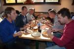 das köstliche Mittagessen im Schweizerhaus