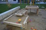 Auch der Spielplatz ist wunderbar in der Seestadt Aspern