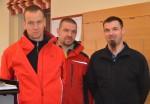 Unsere Mitarbeiter Vorarbeiter Roman Schuster, Vorarbeiter in der Kaminsanierung Mario Niedzballa und Vorarbeiter Fassade Jürgen Hauer besuchten den Kurs für Sicherheitsvertrauenspersonen vom vom 26.2.-28.2018
