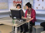 Midi und Roswitha als Moderator