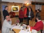 Der Chef gratuliert Leopold Eigner zu seinem 50.Geburtstag ganz herzlich
