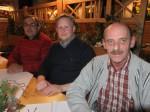 Leopold Eigner mit Christian und Polier Manfred Zellhofer