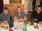 Herbert Frauberger, Ewald Aron und Christoph Walzer