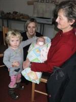 Frau Vlach Enkelkinder und Schwiegertochter