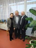Alois mit Chef und Chefin