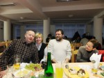 Stani mit Frau und Herbert Göttinger