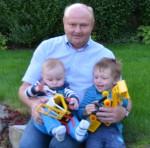 60.Geburtstag von BM Ing. Hermann Lechner mit seinen beiden Lieblingen Alexander und Maximilian