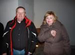 Unser Vorarbeiter in der Kaminsanierung Stanislaw Leszko mit seiner Frau beim Sektempfang auf unserer Weihnachtsfeier
