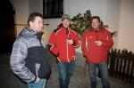 Unsere neuen Mitarbeiter Jozef Hmira, Pavol Sprlak u. Ladislav Chupac beim Sektempfang auf unserer Weihnachtsfeier