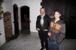 Unser Vorarbeiter Walter Prösser mit unserem Lehrling Patrick Tutsch beim gemütlichen Plaudern