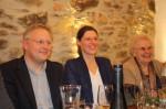 Prok. DI (FH) Christian Lechner mit Daniela und Seniorchefin in gemütlicher Runde