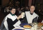 Roswitha und ihr Erhard hatten großen Spaß bei der Weihnachtsfeier 2016 der Baufirma Lechner
