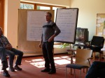 Rudi beim Seminar