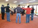 beim Lösen der Aufgabe im Team-Seminar