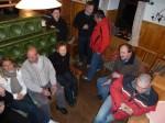 Es war für alle ein lustiger Abend auf einer Hütte im Zuge des Team-Seminares
