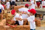 """Das Highlight im Kindersommer unserer Gemeinde ist die """"Kinderbaustelle"""" der Baufirma Lechner"""