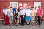 Die fleißigen Helfer samt Firmenleitung bei der gelungenen Kinderbaustelle 2018