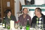 Rudi Hahn mit Freundin und Hermann Zollner