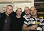 Andreas Jamy,Arnold Hauer,Franz Hager und Mario Niedzballa bei der Weihnachtsfeier 2014 von Baufirma Lechner