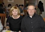 Stanislaw Leszko mit seiner Frau bei der Weihnachtsfeier 2014 der Baufirma Lechner
