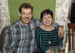 Spass bei der Weihnachtsfeier 2014 der Baufirma Lechner hatten auch Herbert Schiedlbauer und Roswitha Sam