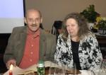 Manfred Zellhofer mit seiner Frau bei der Weihnachtsfeier 2014 der Baufirma Lechner